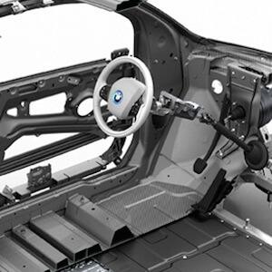 Portfolio BMW i3 Technical Art