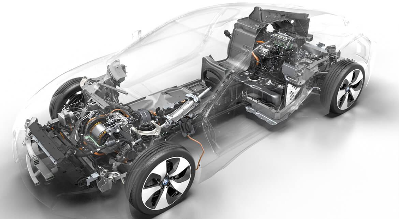 BMW i8 Technical Art